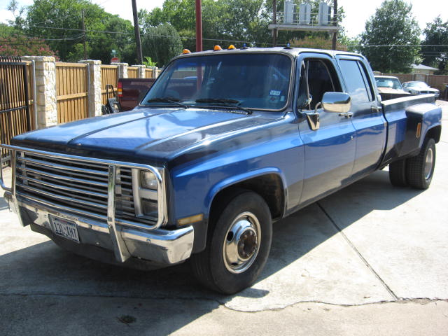 454 Chevy Truck 1986 CHEVY DUALLY
