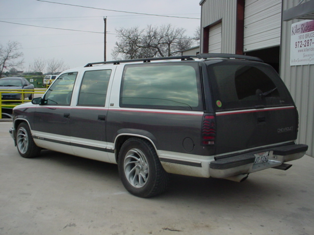 Chevy 3 3 >> 92 Suburban